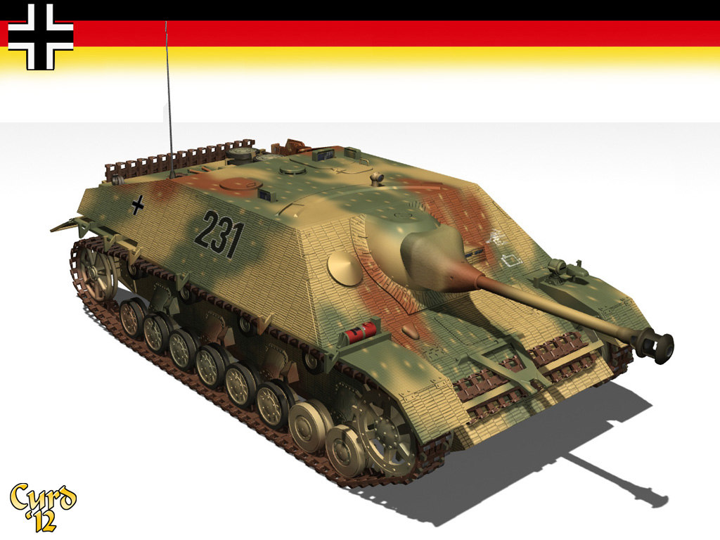 jagdpanzer tanks 3d model