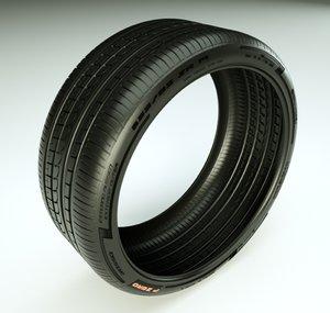 3ds max pirelli pzero rosso