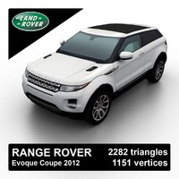 Range Rover Evoque 3-door 2012