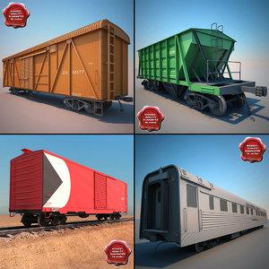 3d model trains v1