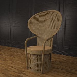 chair east 3d max