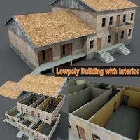 Lowpoly building lpwin11