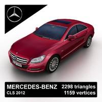 3d max 2012 mercedes-benz cls