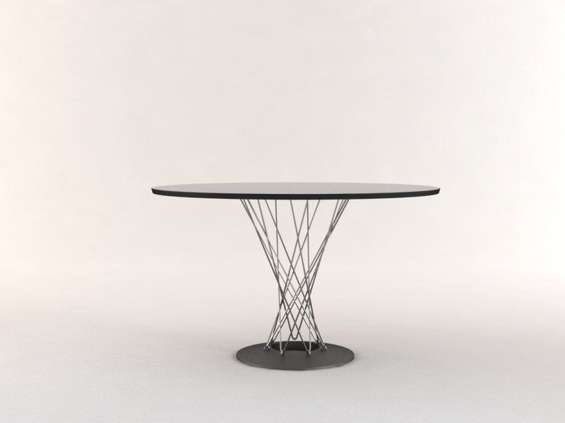 noguchi dining table 3d model