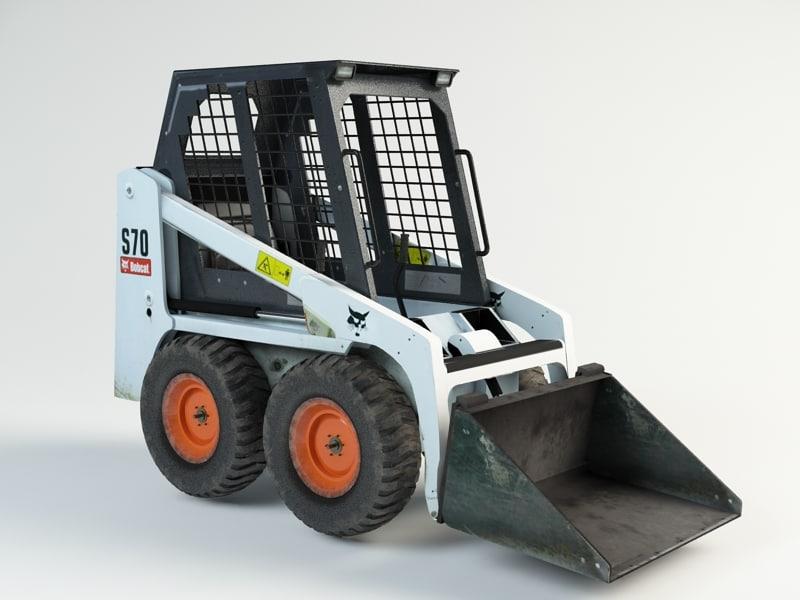 max bobcat loader