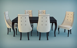 premiere classe dining table 3ds