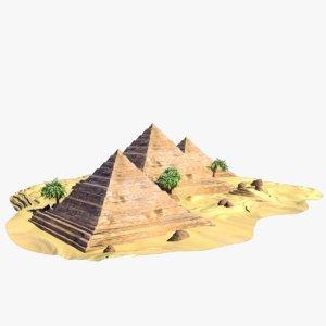 obj wonders pyramids