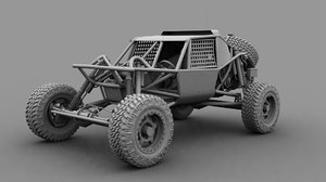3d model of nitto dune buggy