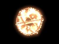 fireball 3d model