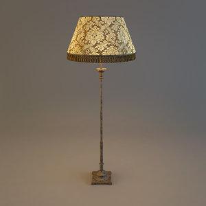 floor lamp 3d max