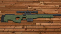3ds max l96 magnum sniper rifle