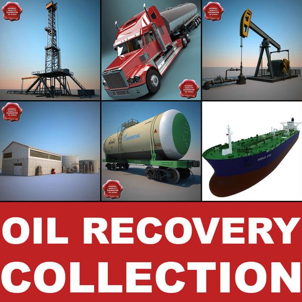 oil recovery v2 3d model