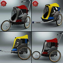 3ds max pet bicycles