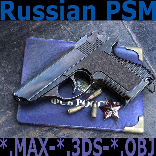 psm 3d model