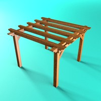 max wooden pergola