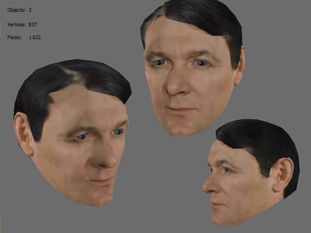 3ds max faces