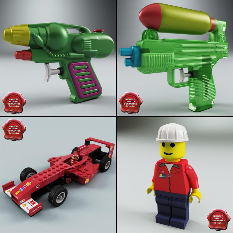 toys v1 3d model