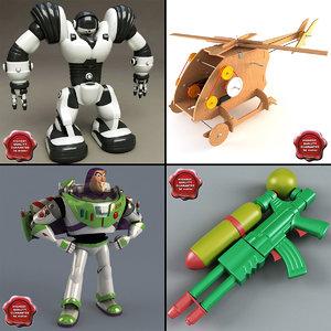 3d model toys v3