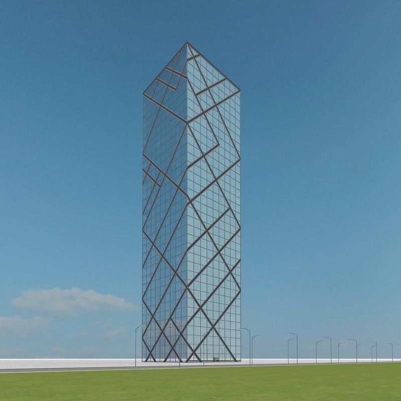 3d new skyscraper 63 model