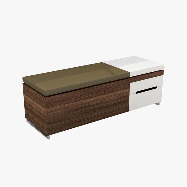 blu cognita storage bench max