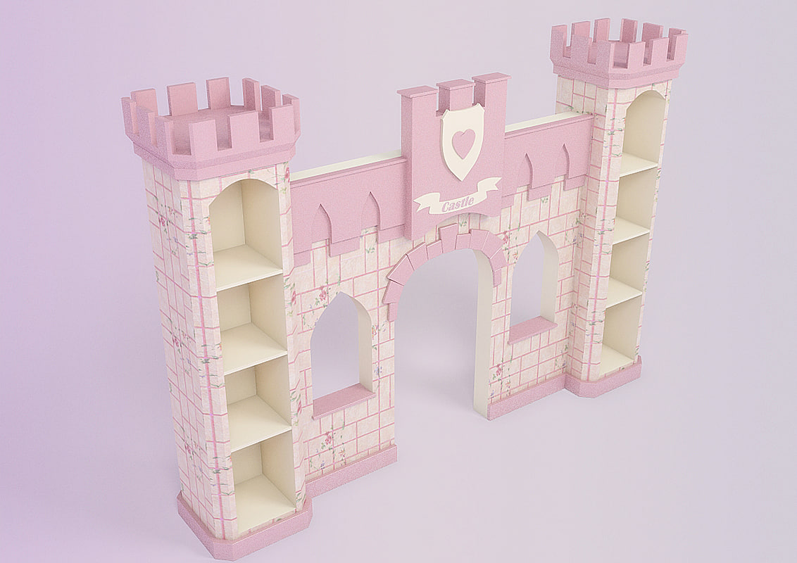 3ds max princess castle