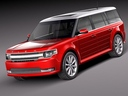 Ford flex 3D models
