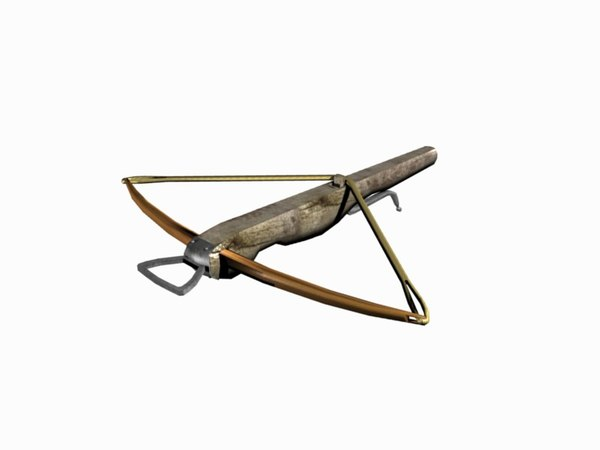 3d crossbow bolt armour