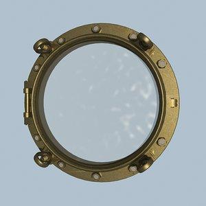ship porthole 3ds