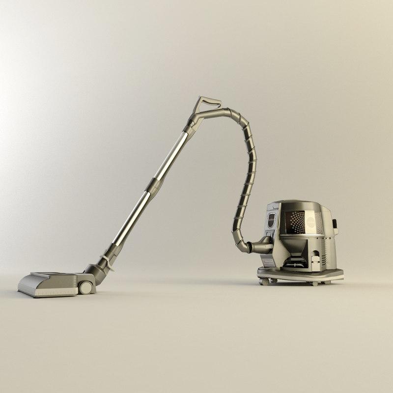 3d max rainbow vacuum cleaner