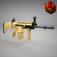 3ds mk fn scar rifle