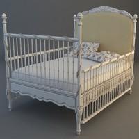 3d child bed model
