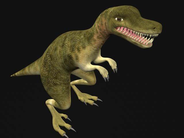 3ds max realistic dinosaur