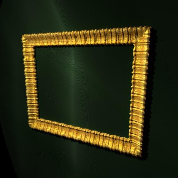 3d model frame