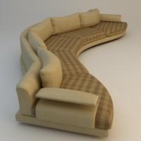 sofa materials 3d model