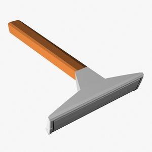 3d model disposable razor