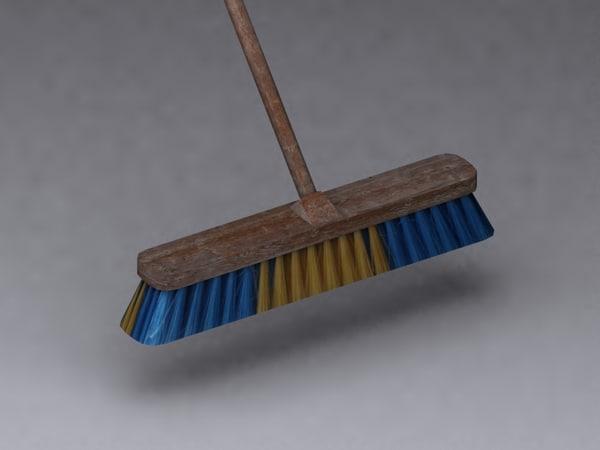 3d broom