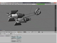 star wars pod racer 3d model