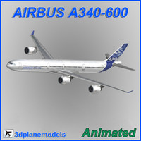 Airbus A340-600 Airbus House livery