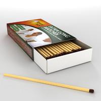 3d model bryant matches