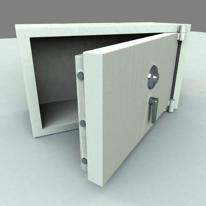 3d model safe locking