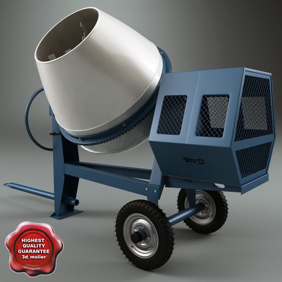 concrete mixer v2 max