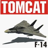 blender f-14 tomcat