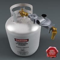 Helium Gas Cylinder V2