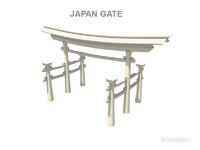 maya japan gate