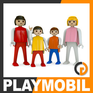playmobil plastic figures play obj