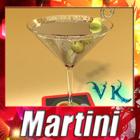 Martini Liquor Glass