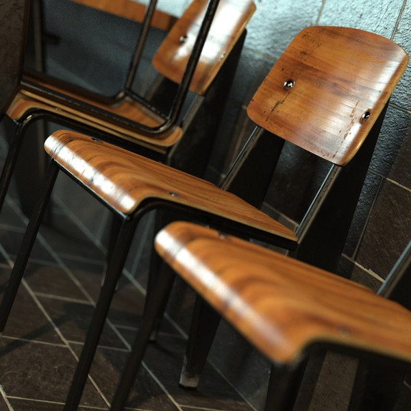 maya chair photorealistic