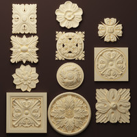 Rosettes SET 2 (11 models)