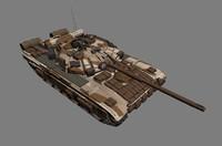 t-90 tank 3d model