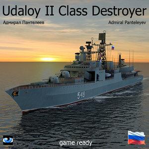 max udaloy ii class destroyer